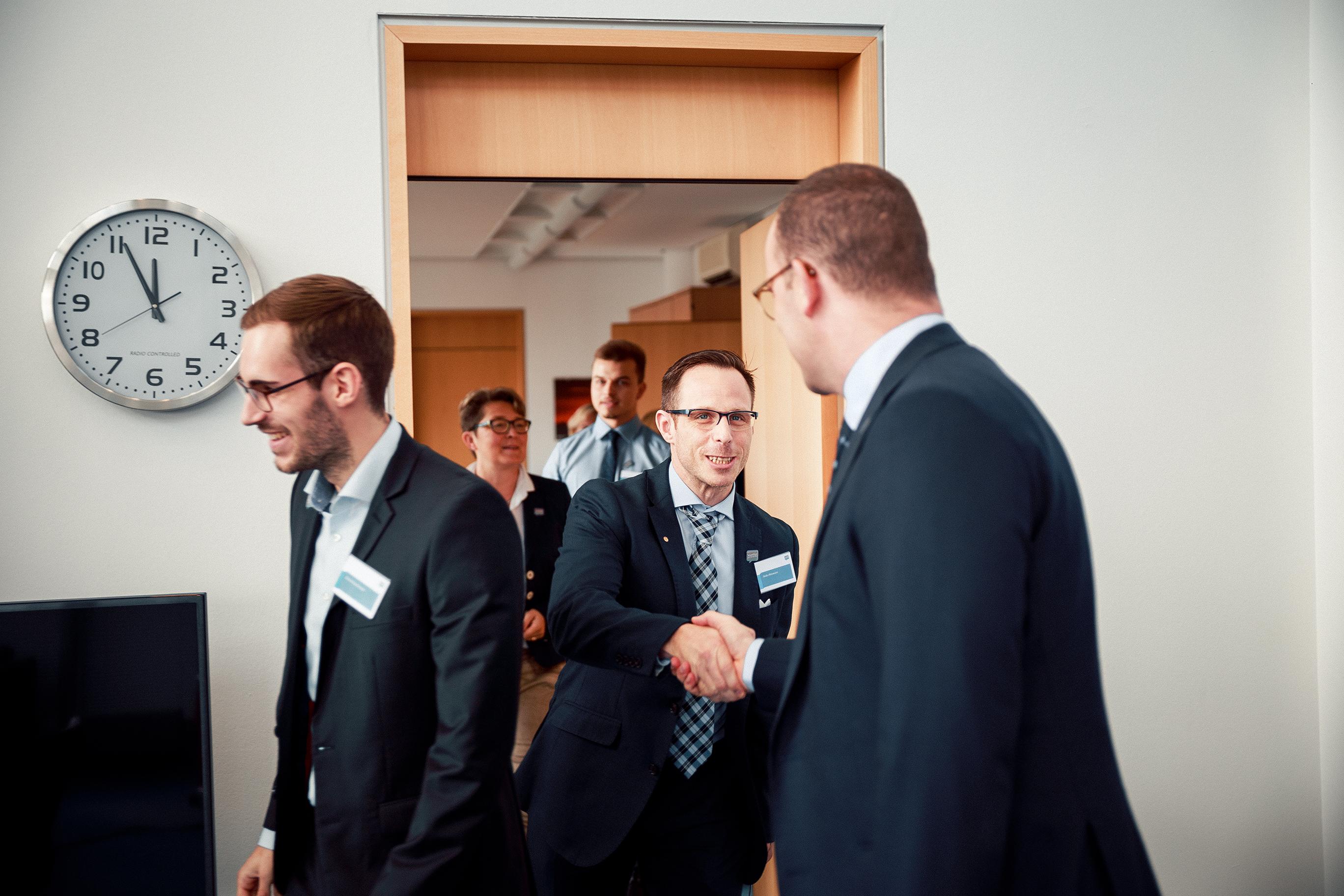 Meeting mit Jens Spahn