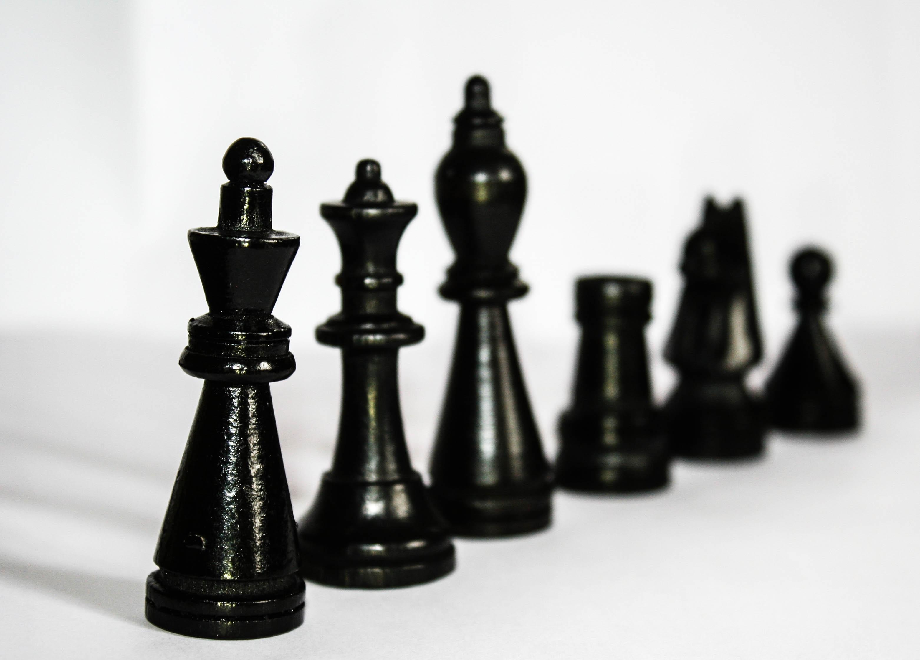 Organisatorische Grundelemente - Hierarchie im Schach