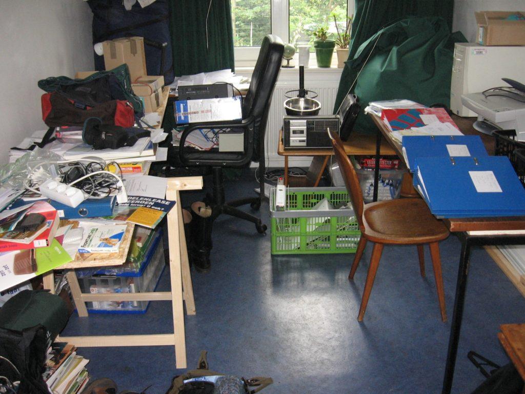 Organisation unterorganisiertes Büro